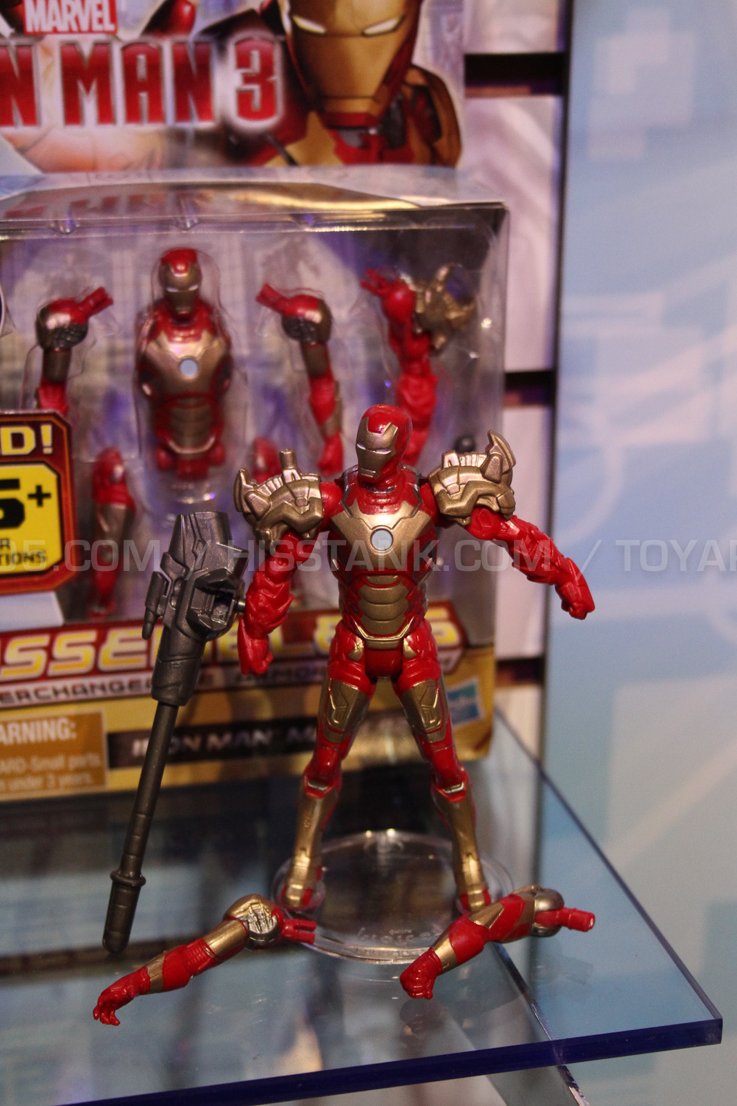Iron Man 3 Toys ~ Iron man toys from toy fair the toyark news