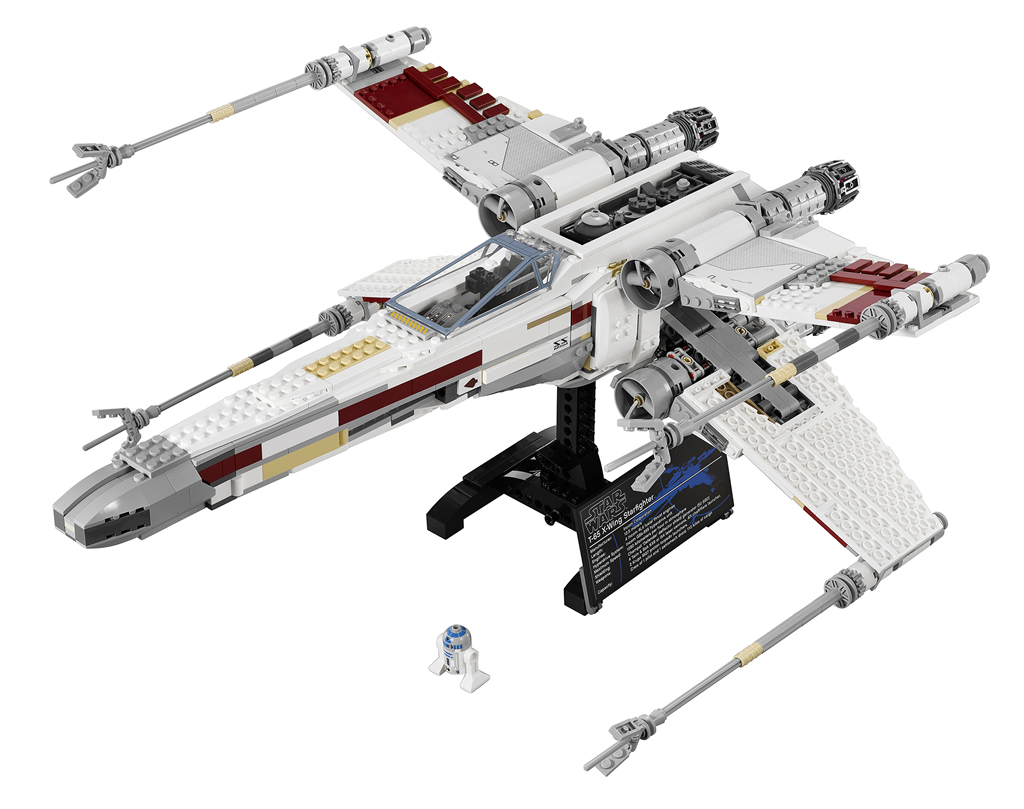 lego ultimate collector 39 s series red 5 x wing 10240 the. Black Bedroom Furniture Sets. Home Design Ideas