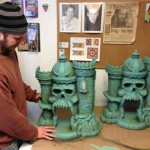 MOTUC-Castle-Grayskull-Being-Painted-1