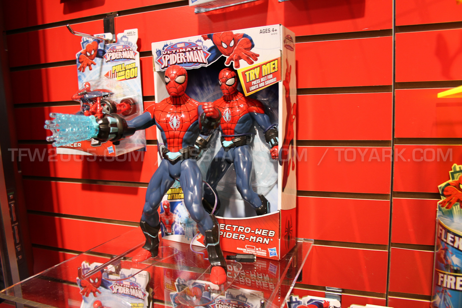 Spider man toys from toy fair 2013