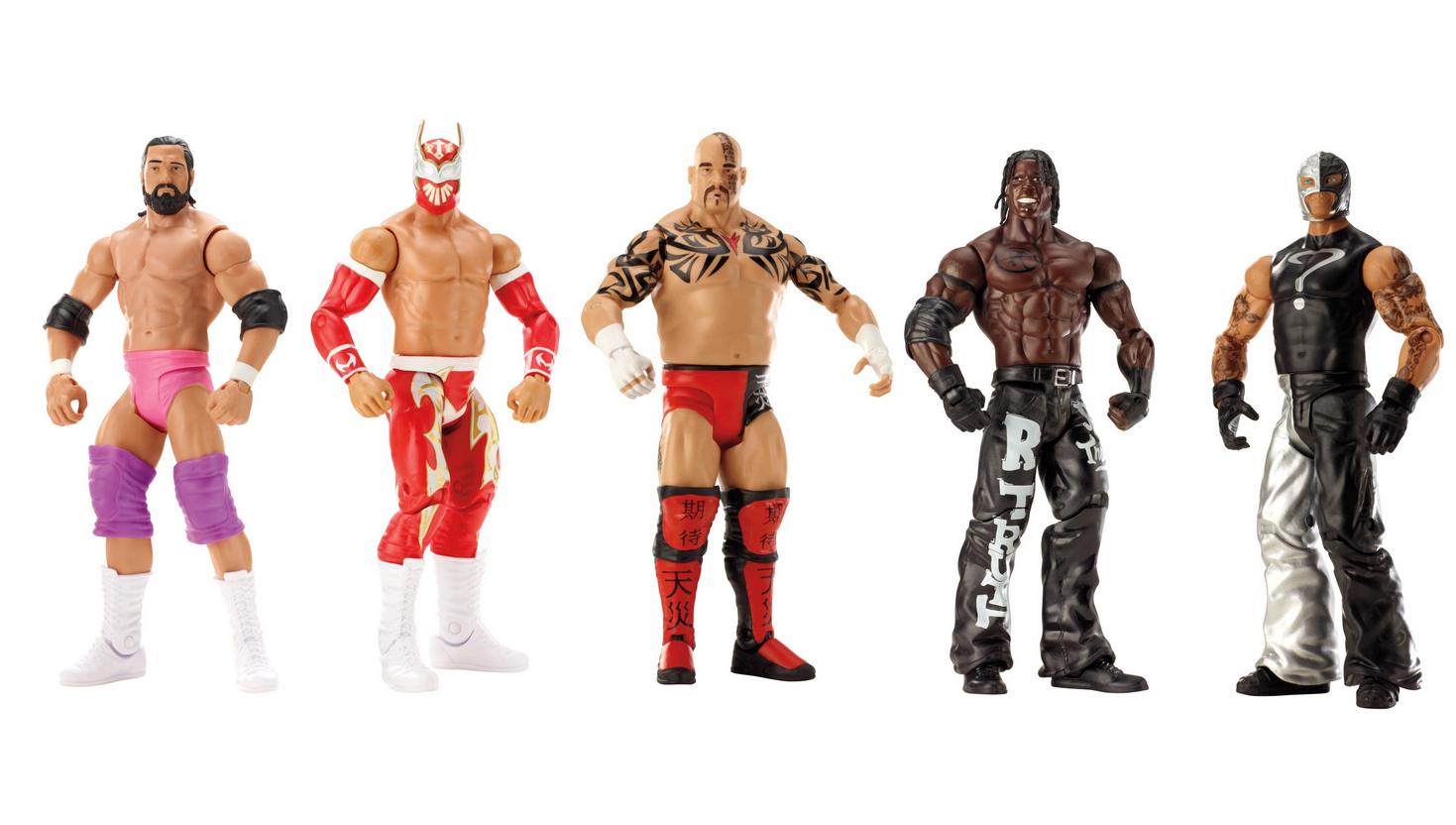 Mattel Toy Fair WWE 2013 Figures