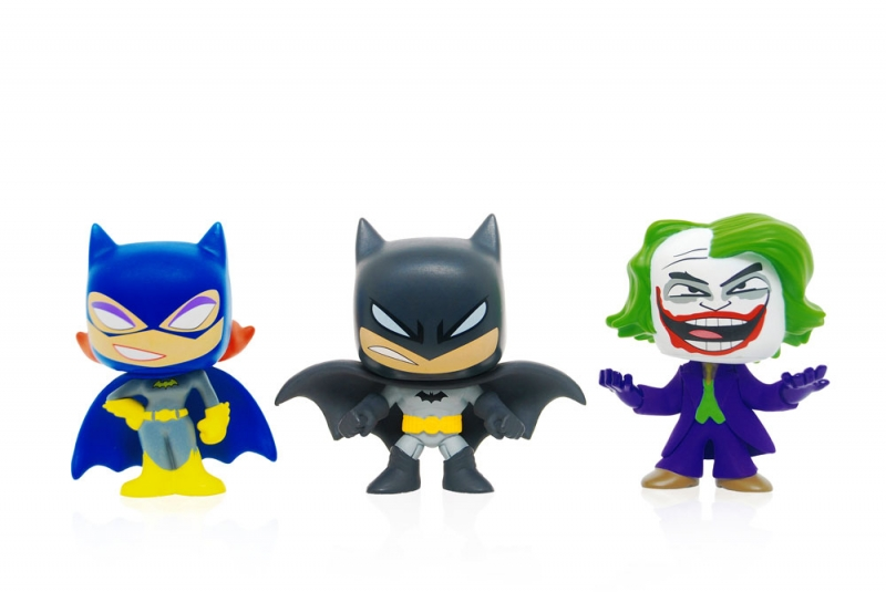 DC Mystery Minis Batman Batgirl and Joker 2