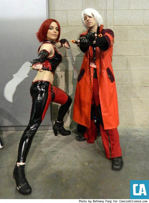 Pax East 2013 Cosplay Blood Rayne and Dante