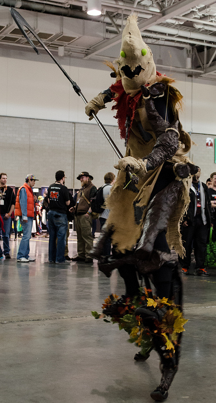 Pax East 2013 Cosplay Creepy Scarecrow