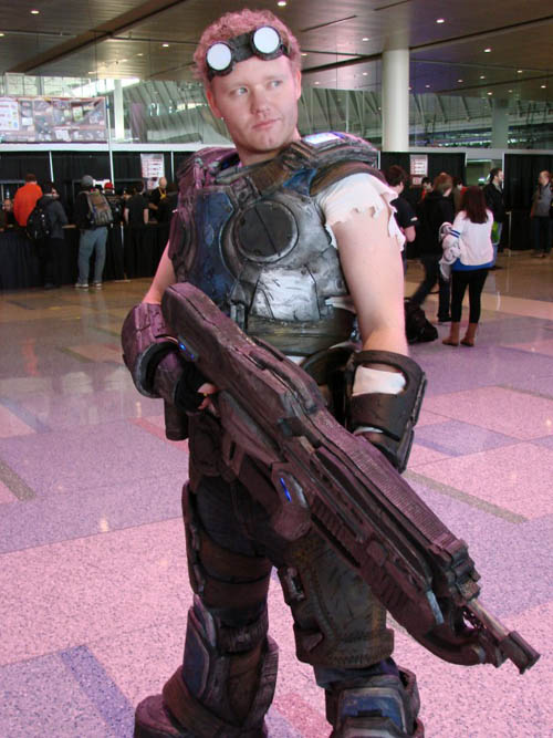 Pax East 2013 Cosplay Damon Baird from Gears of War