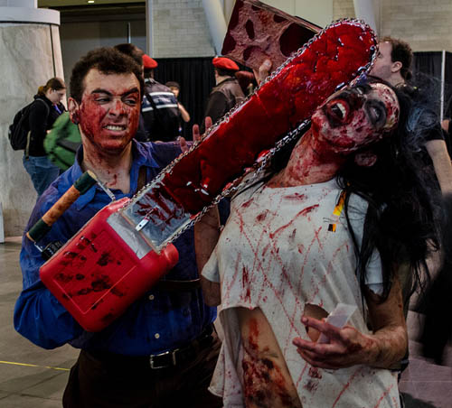 Pax East 2013 Cosplay Evil Dead 2 Ash