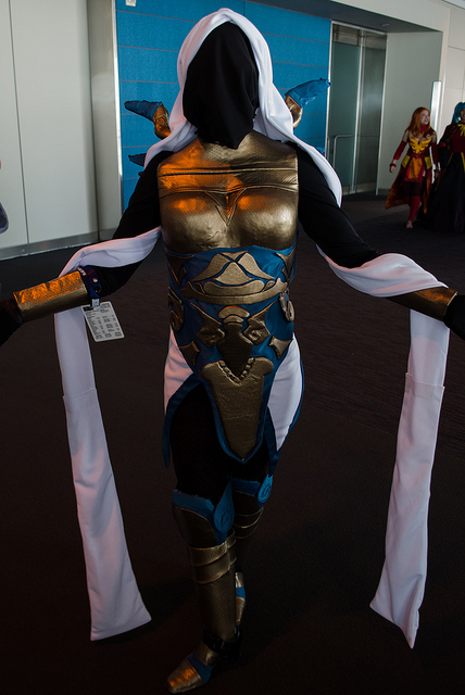 Pax East 2013 Cosplay Female Knight
