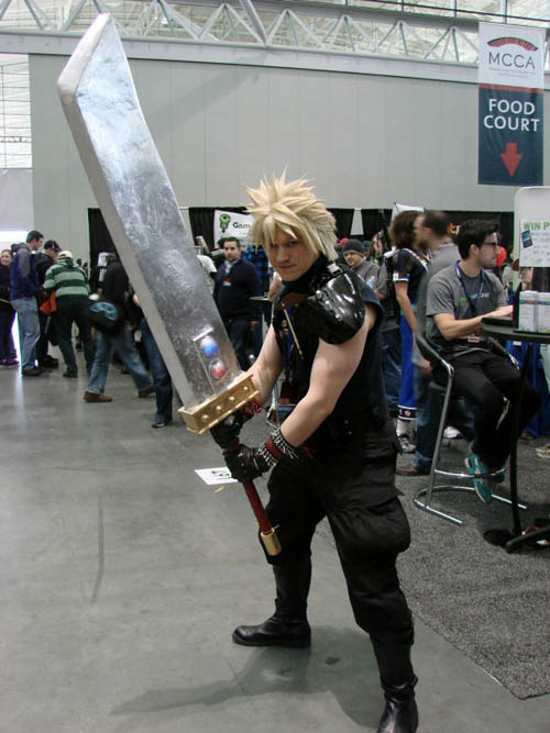 Pax East 2013 Cosplay Final Fantasy VII Cloud