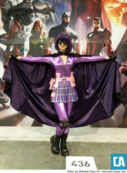 Pax East 2013 Cosplay Hit Girl from Kick Ass