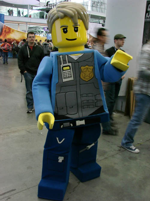 Pax East 2013 Cosplay LEGO Cop