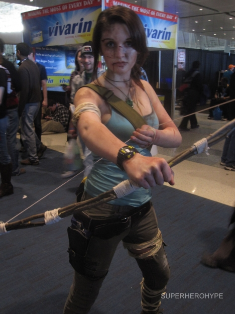 Pax East 2013 Cosplay Lara Croft