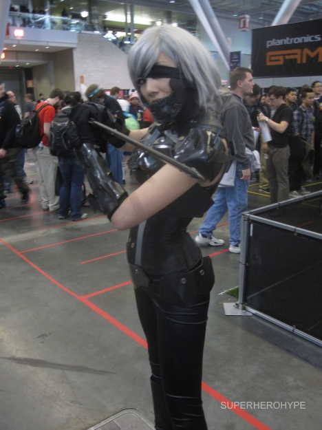 Pax East 2013 Cosplay Metal Gear Raiden