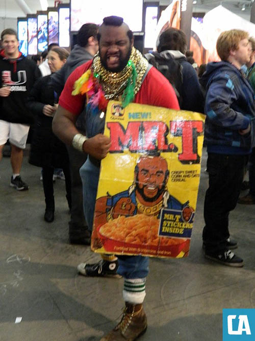Pax East 2013 Cosplay Mr T Cereal