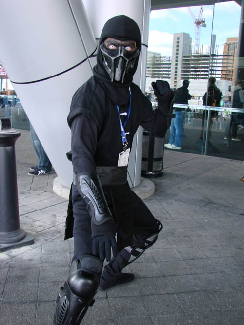 Pax East 2013 Cosplay Noob Saibot