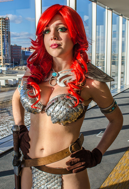 Pax East 2013 Cosplay Red Sonja