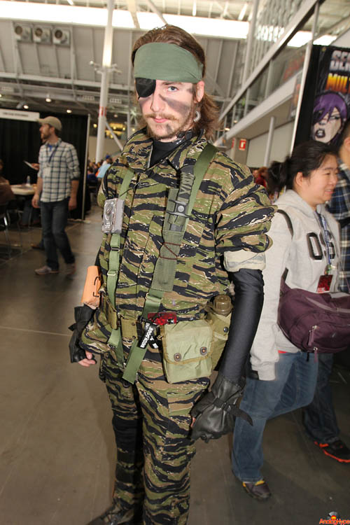 Pax East 2013 Cosplay Solid Snake