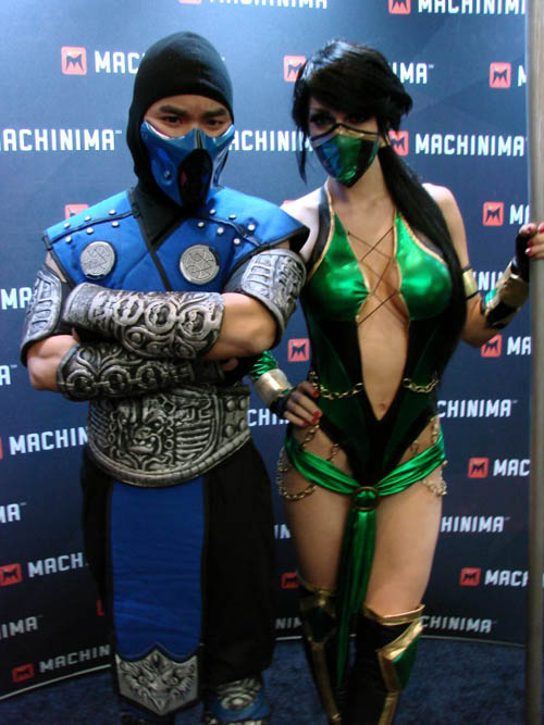 Pax East 2013 Cosplay Sub Zero and Jade