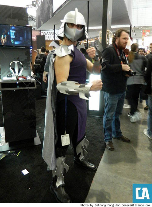 Pax East 2013 Cosplay The Shredder