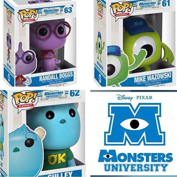 Pop Vinyl Monsters University
