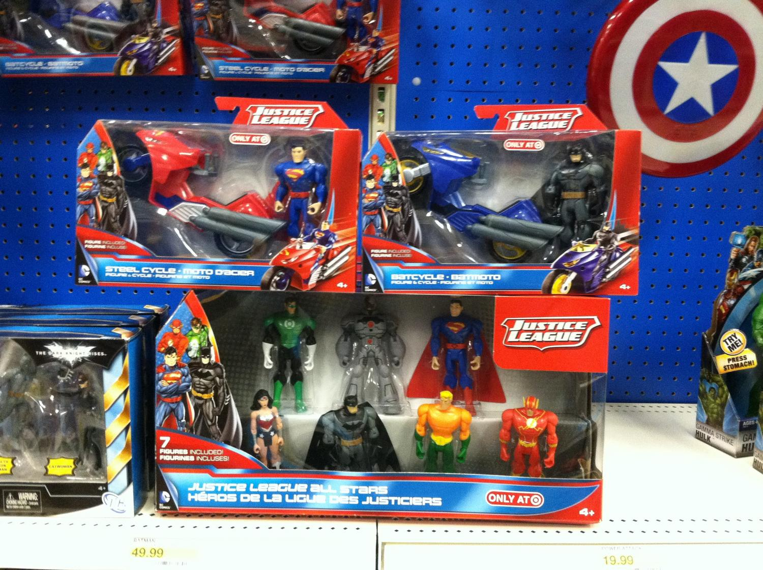 Toys From Target : Target exclusive justice league figures found the toyark news