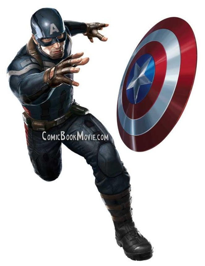 Captain America 2 Costume