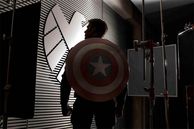 Captain America The Winter Soldier First Photo