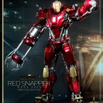 Hot Toys PPS Iron Man 3 Red Snapper Armor 001