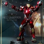 Hot Toys PPS Iron Man 3 Red Snapper Armor 002
