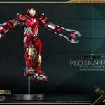 Hot Toys PPS Iron Man 3 Red Snapper Armor 005