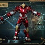 Hot Toys PPS Iron Man 3 Red Snapper Armor 006