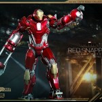 Hot Toys PPS Iron Man 3 Red Snapper Armor 007