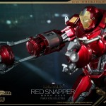 Hot Toys PPS Iron Man 3 Red Snapper Armor 008