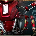 Hot Toys PPS Iron Man 3 Red Snapper Armor 011