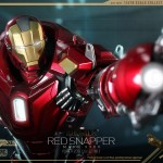 Hot Toys PPS Iron Man 3 Red Snapper Armor 012