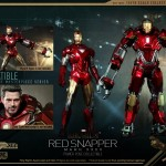 Hot Toys PPS Iron Man 3 Red Snapper Armor 014