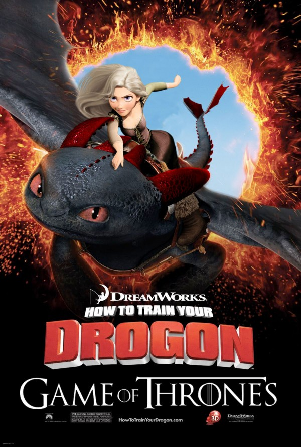 How to train your Drogon poster