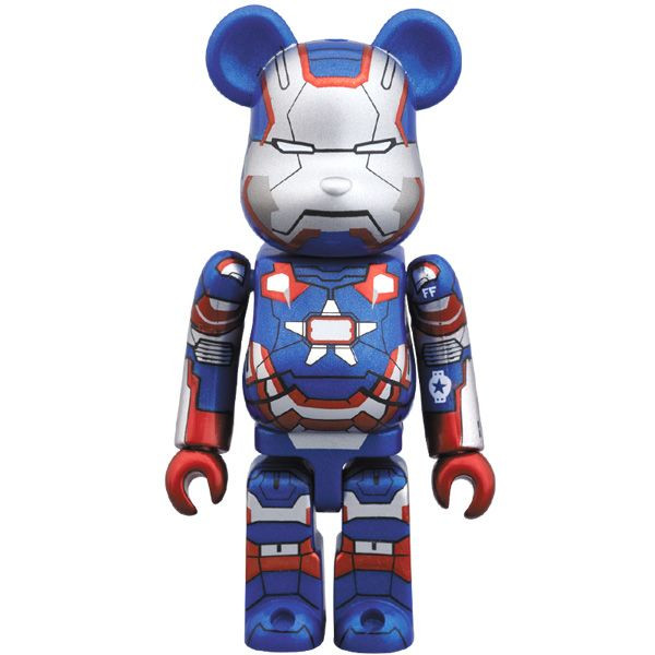 Iron Man 3 Iron Patriot Be@rbrick