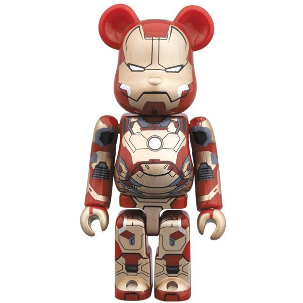 Iron Man 3 Mark 42 Armor Be@rbrick