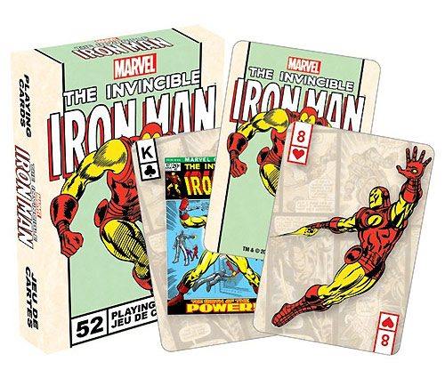 Iron Man Playing Cards
