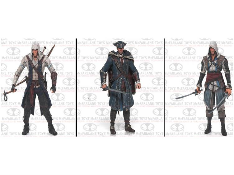 Assassin S Creed Kenway Family 3 Pack The Toyark News