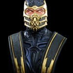 Mortal Kombat Scorpion Life Sized Bust 001