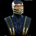Mortal Kombat Scorpion Life Sized Bust 002