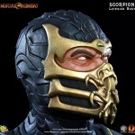 Mortal Kombat Scorpion Life Sized Bust 005