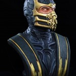 Mortal Kombat Scorpion Life Sized Bust 007