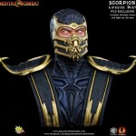 Mortal Kombat Scorpion Life Sized Bust 013
