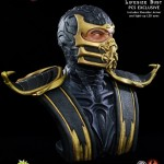 Mortal Kombat Scorpion Life Sized Bust 014