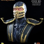 Mortal Kombat Scorpion Life Sized Bust 017