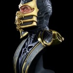 Mortal Kombat Scorpion Life Sized Bust 019