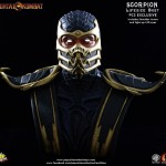 Mortal Kombat Scorpion Life Sized Bust 020