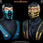 Mortal Kombat Scorpion Life Sized Bust 022